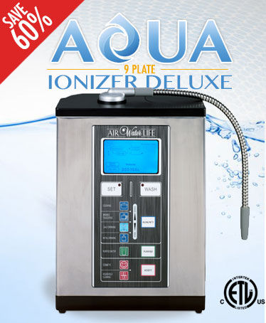 Aqua Ionizer Deluxe 9.0 Water Ionizer
