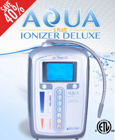 Aqua Ionizer Deluxe 5.0 Water Ionizer