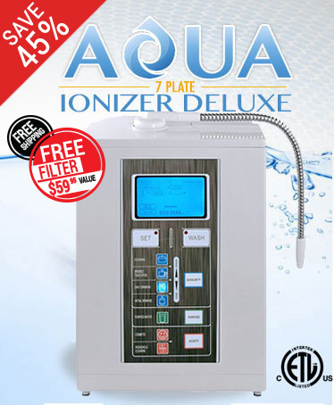 7 Plate Water Ionizer Machine Sale