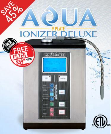 9 Plate Water Ionizer Machine Sale