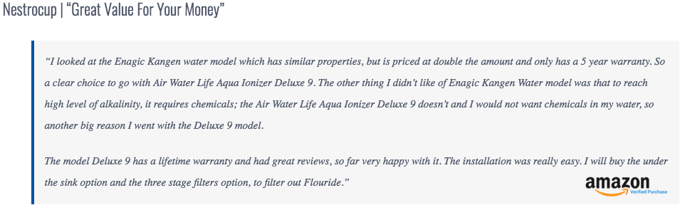 Aqua Ionizer Review 2