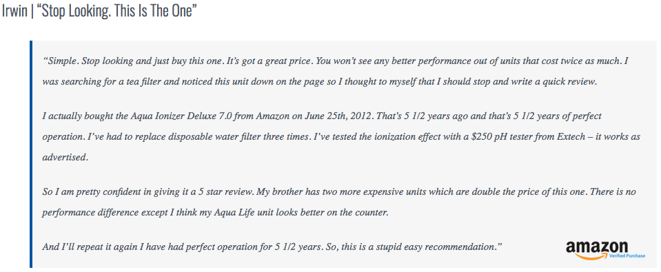 Aqua Ionizer Review 7.0 3