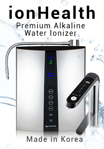 ionHealth water ionizer banner mobile