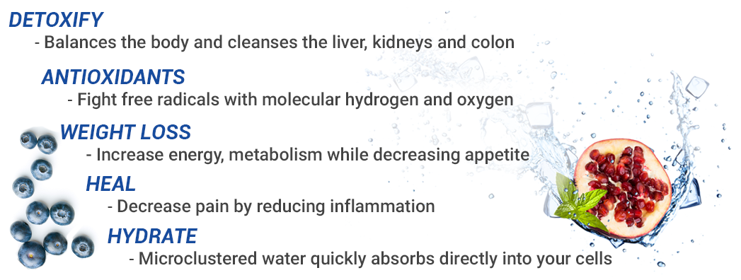 Detoxify Weight Loss Heal Hydrate