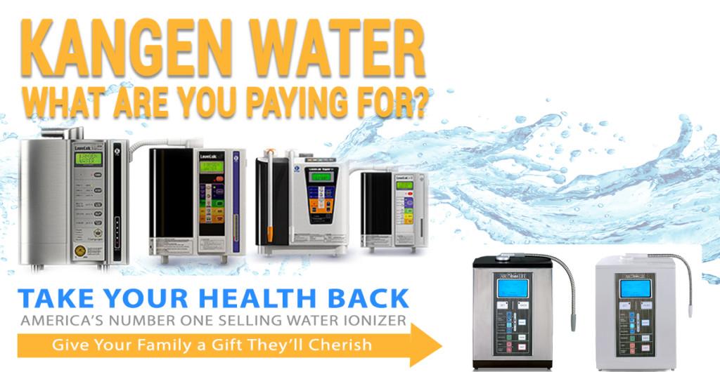 Kangen Water Machine Banner