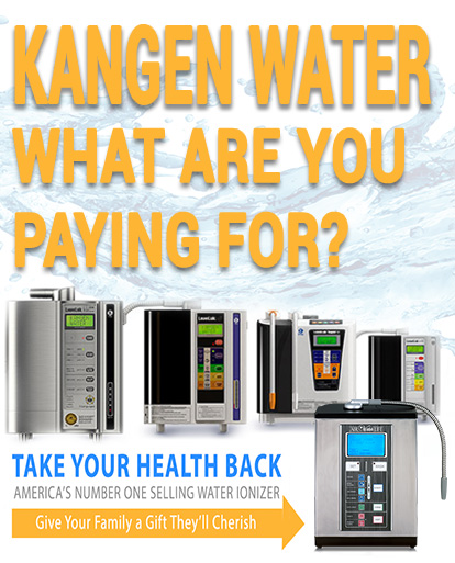 kangen water machine benefits