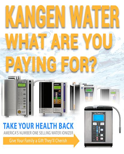 Kangen Water Mobile Banner