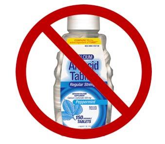No-Anti-Acid-Tabs - Air Water Life®