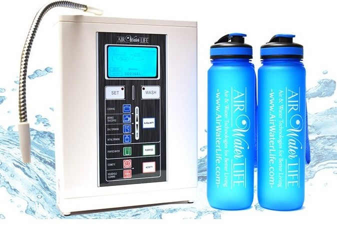 Mobile Water Ionizer Health Banner