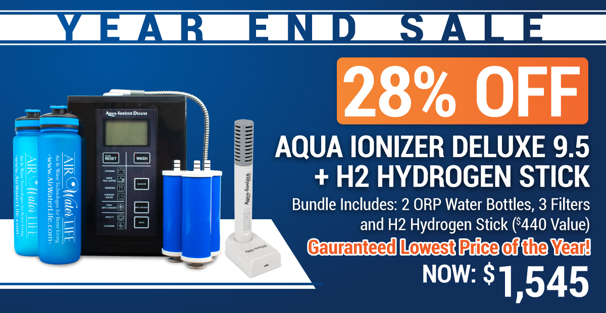 9.5 water ionizer sale